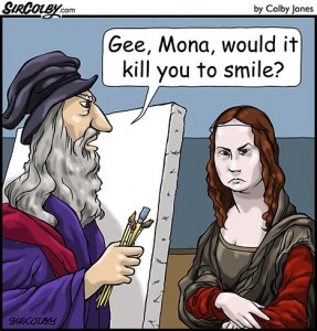 Smile Mona