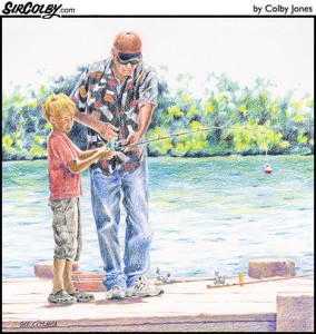 Fishing Lesson