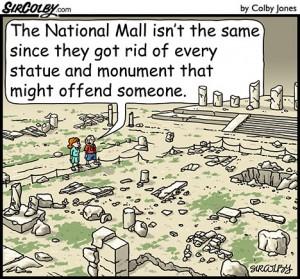 National Mall Ruins
